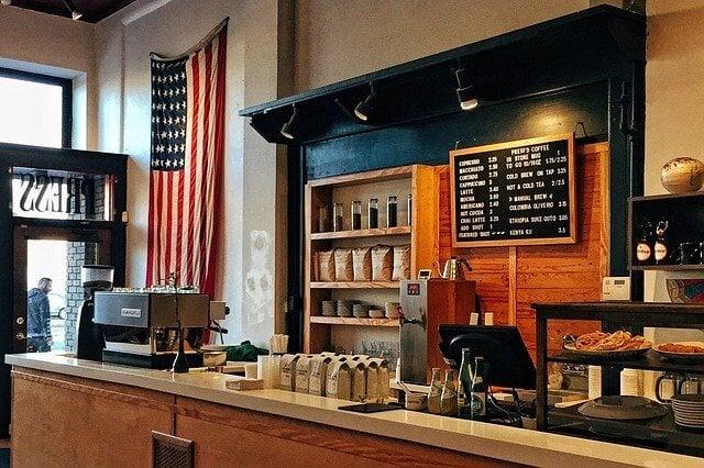 cual es la visión de una cafetería