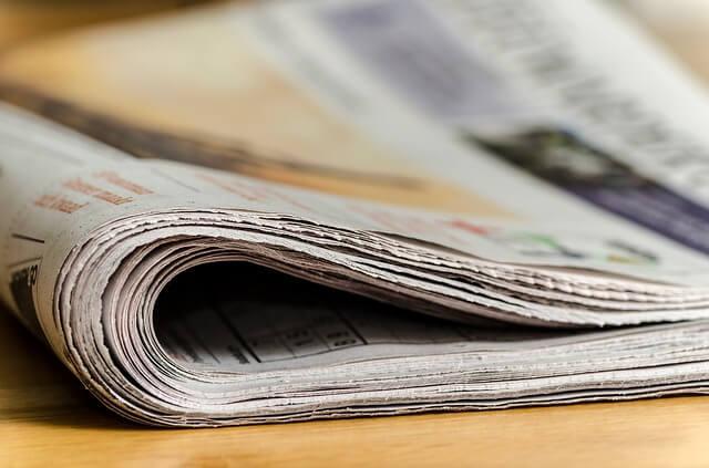 nombres para periódicos en Inglés